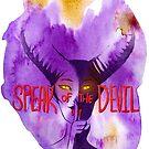 Speak of the Devil Full Logo by InfinityBreak