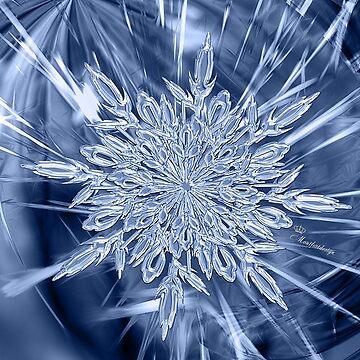 Big ice crystal by comtessek