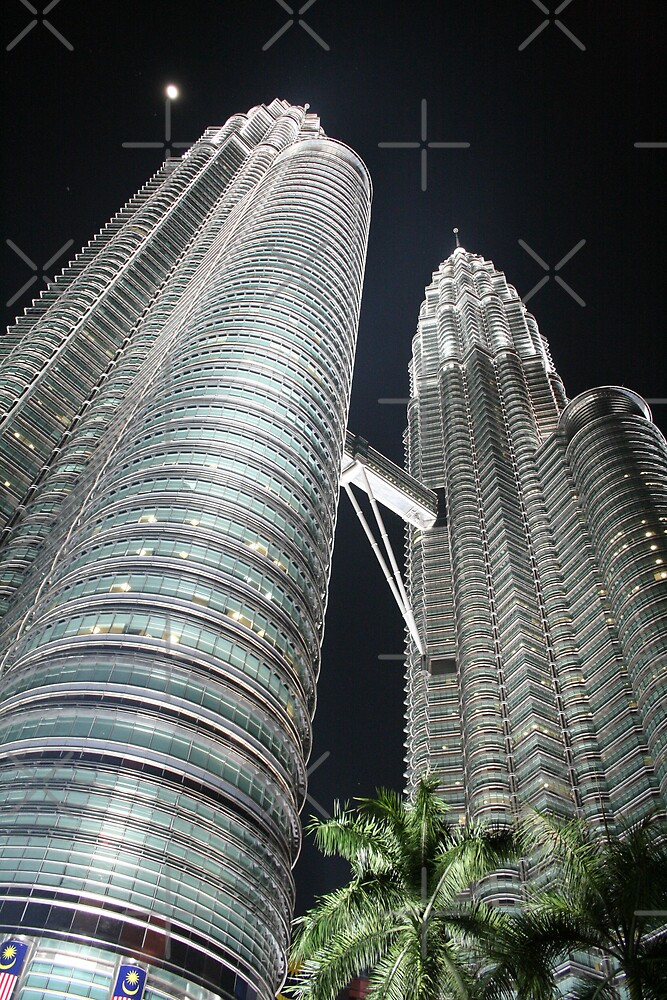 Petronas Towers at Night by hjuk