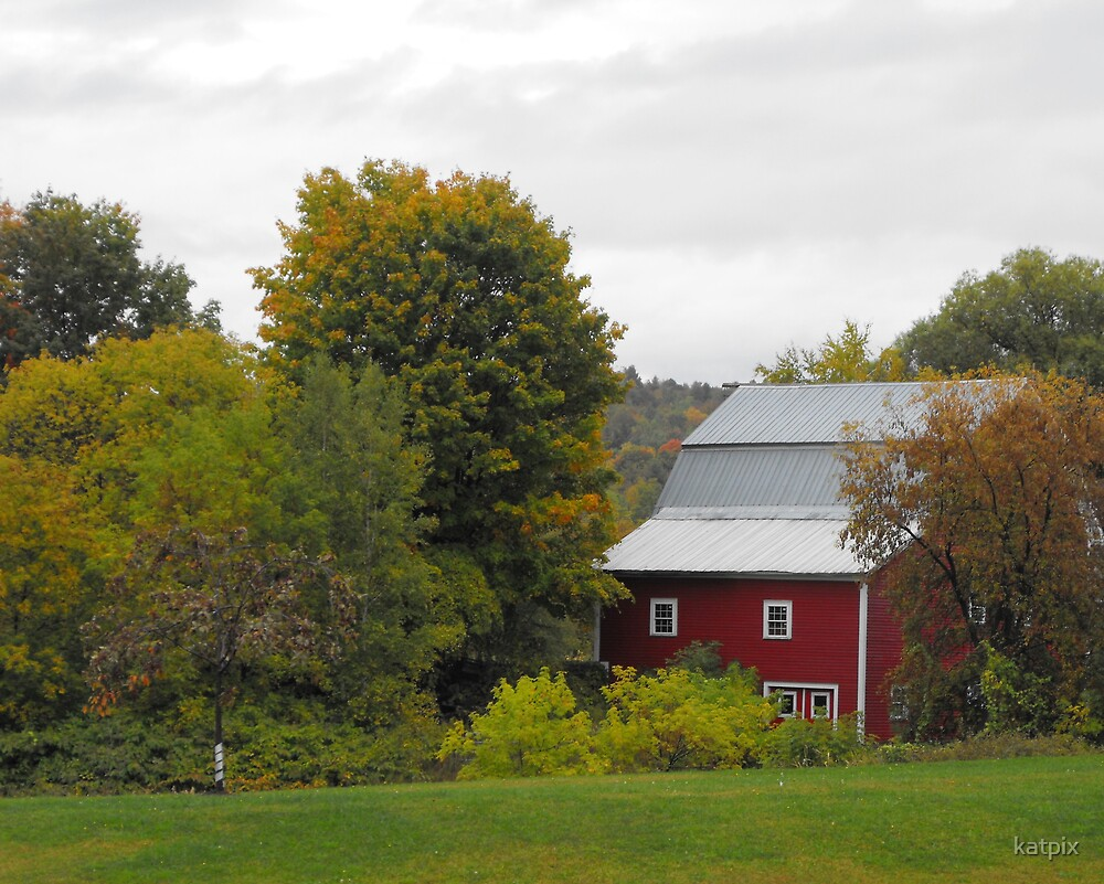 Little Red Barn by katpix