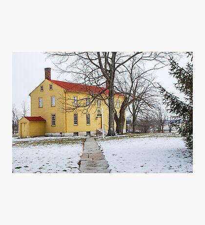 Shaker House - Mustard Photographic Print