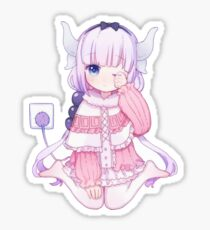 Cute Kanna (Miss Kobayashi's Dragon Maid) 小林さんちのメイドラゴン Sticker