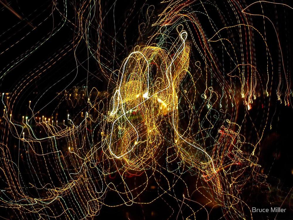 tentacles of my nightmare chandelier by Bruce Miller