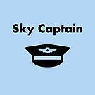 Sky Captain Airline Pilot Hat Monotone by TinyStarAmerica