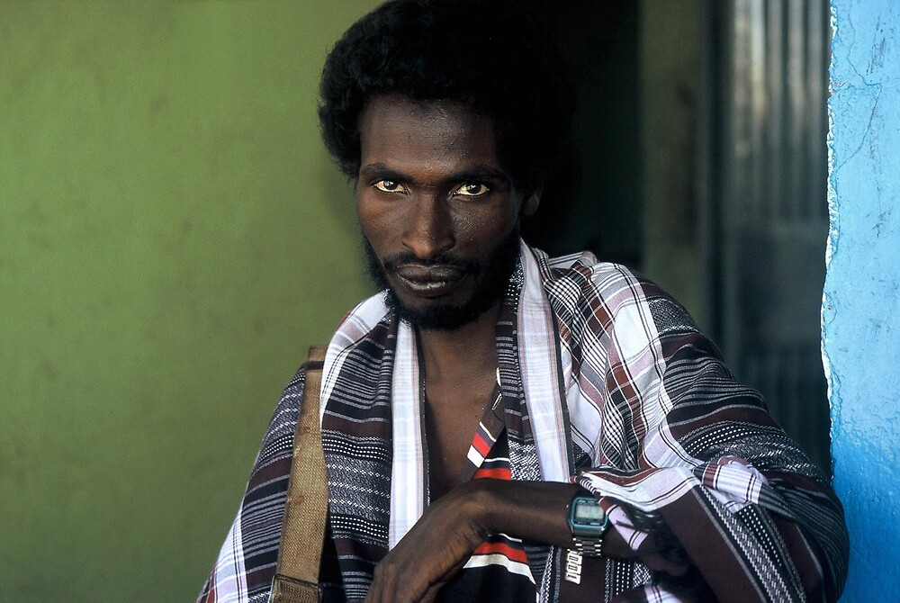 Afar man in Bati by Euphemia