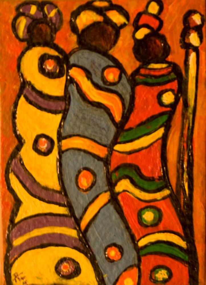 3 Women II by Judith Livingston