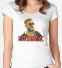 Ryan Fitzpatrick Fitzmagic Women's Fitted Scoop T-Shirt