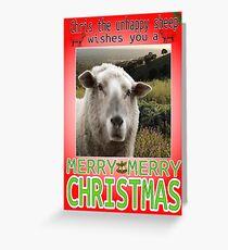 Merry Christmas Chris Greeting Card