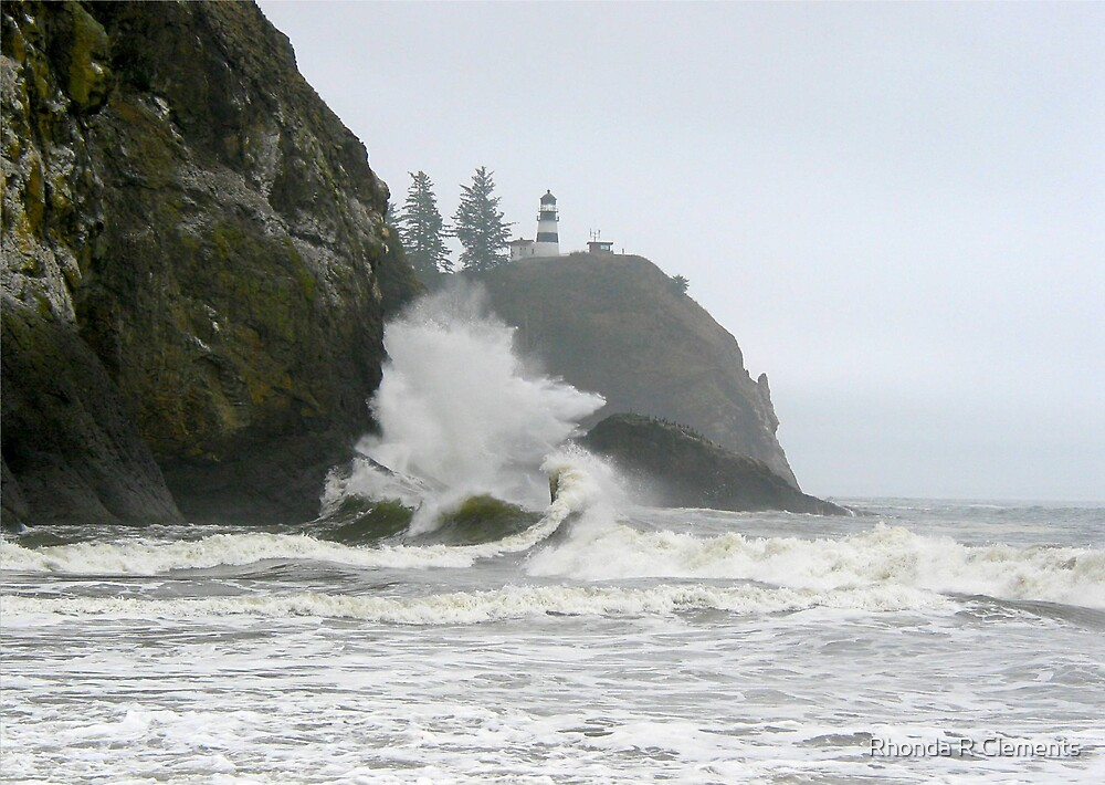 Cape Disappointment, The Wave by Rhonda R Clements