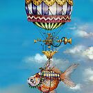 Calico Balloon by Tom Parker