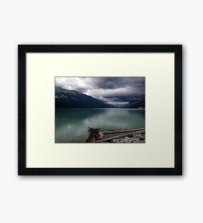 Moods of Mountain Weather Framed Print