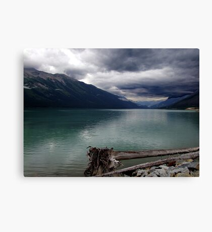 Moods of Mountain Weather Canvas Print