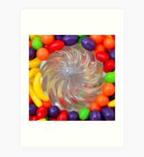Candy Juicer Art Print