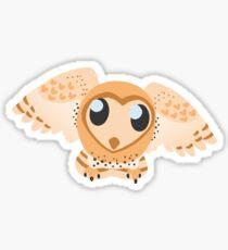 Lovely Barn Owl Sticker