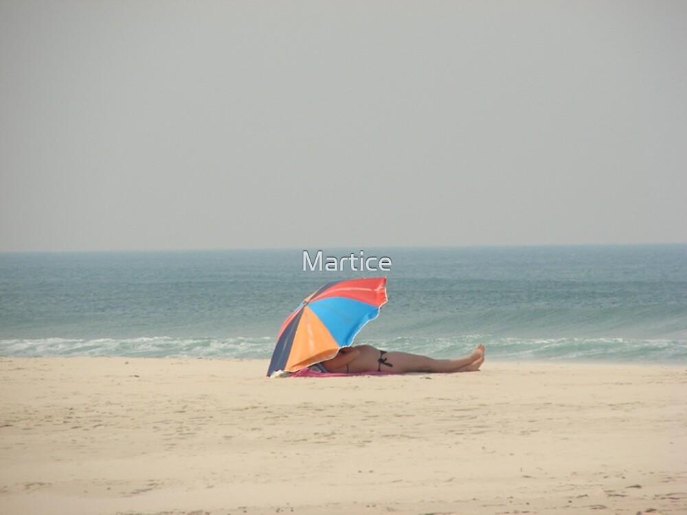 Iluka Beach Babe by Martice
