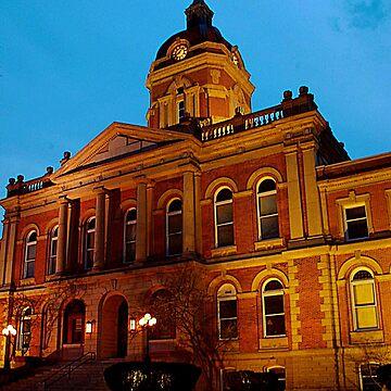 Goshen, Indiana courthouse  by jammingene