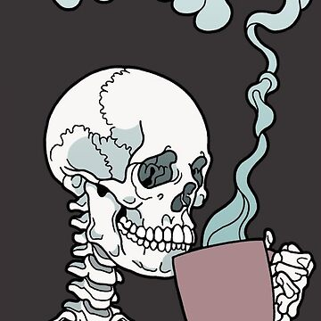 skull coffe by MeserQ