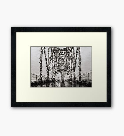 Seeing through Obscurity Framed Print