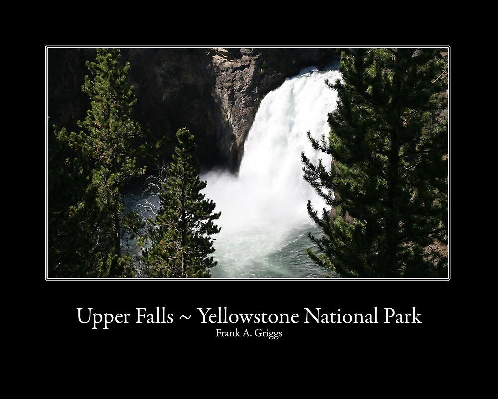 Upper Falls One by FrankGImages