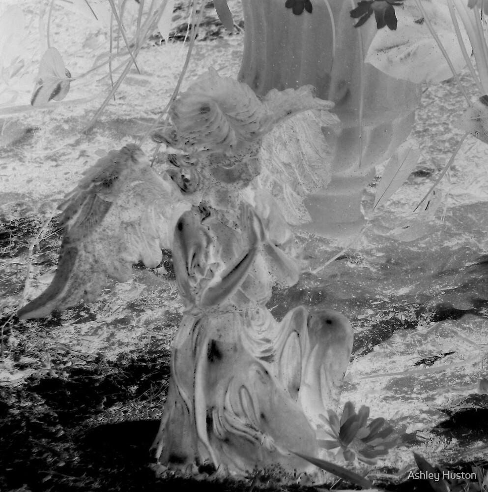 Glass Cherub by Ashley Huston