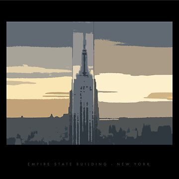 Empire State Building by zodezine
