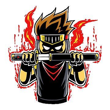 Ninja boy raging mode by sager4ever