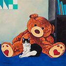 Snoopy and Big Bear by Manter Bolen