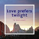 Sunrise Quotation (Oliver Wendell Holmes) by Rachel Jeffrey