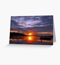 Sunrise at Kirk Park Greeting Card