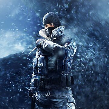 R6 Frost Poster by GrizzlyGoods