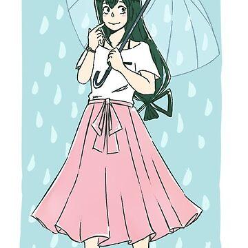 Rainy Day Froppy by haruhaneko