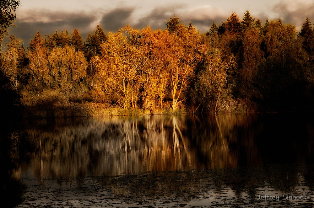 Reflections at dusk by Jeffrey  Sinnock
