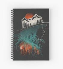 Aurora... Spiral Notebook