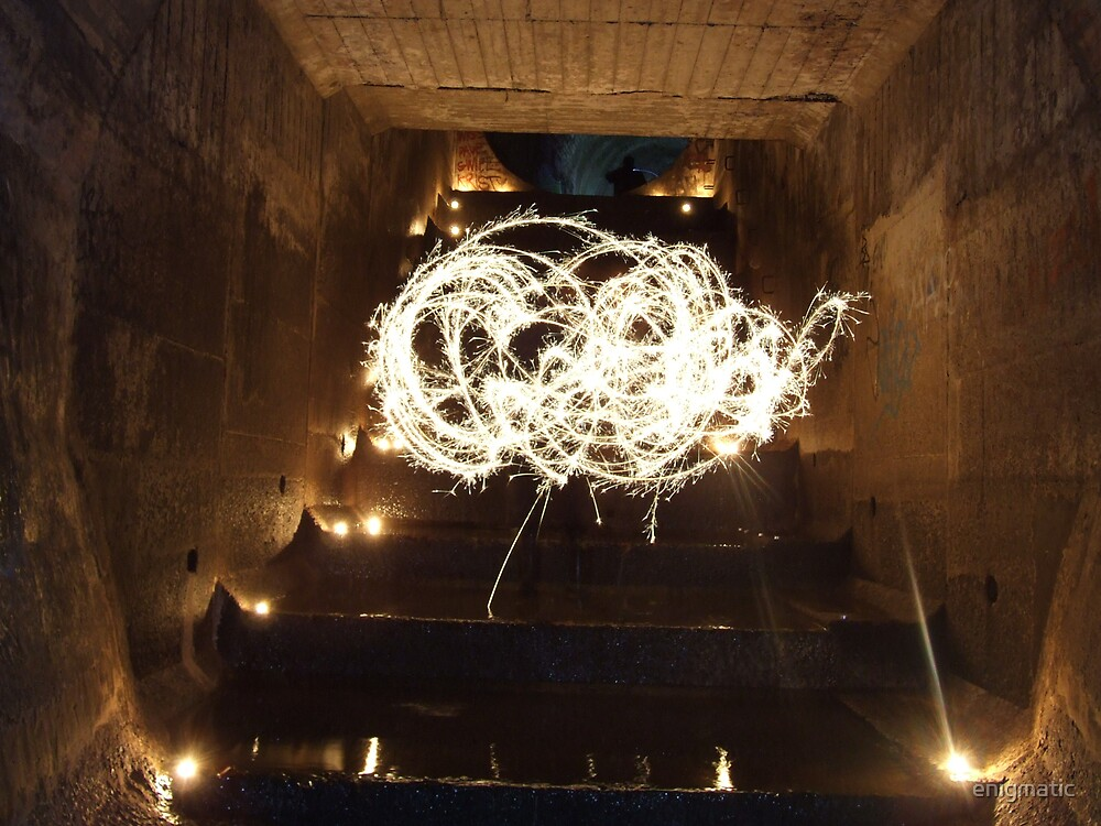 Great Staircase alight! by enigmatic
