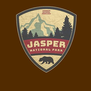Canadian Rockies Jasper National Park Gifts and Souvenirs by manbird