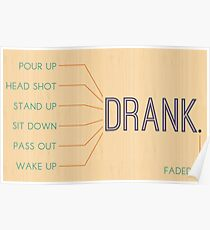 Drank. Poster