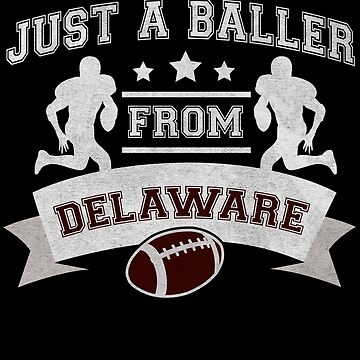 Just a Baller from Delaware Football Player by jzelazny