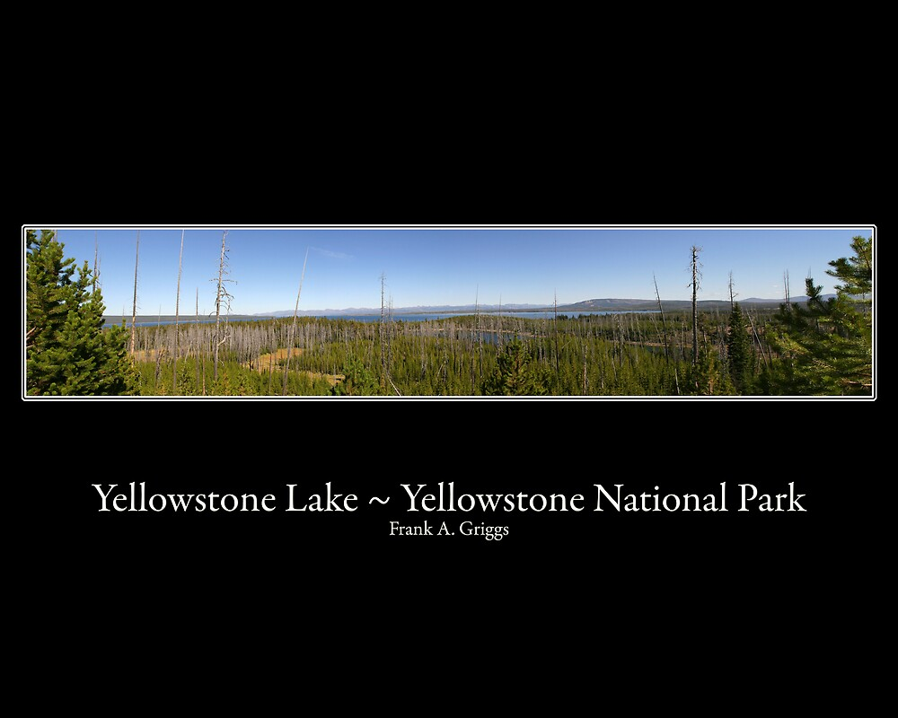 Yellowstone Lake Four by FrankGImages