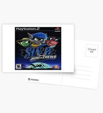 Sly 2 Band Of Thieves Postcards