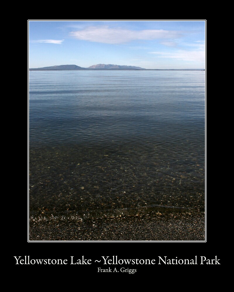 Yellowstone Lake One by FrankGImages