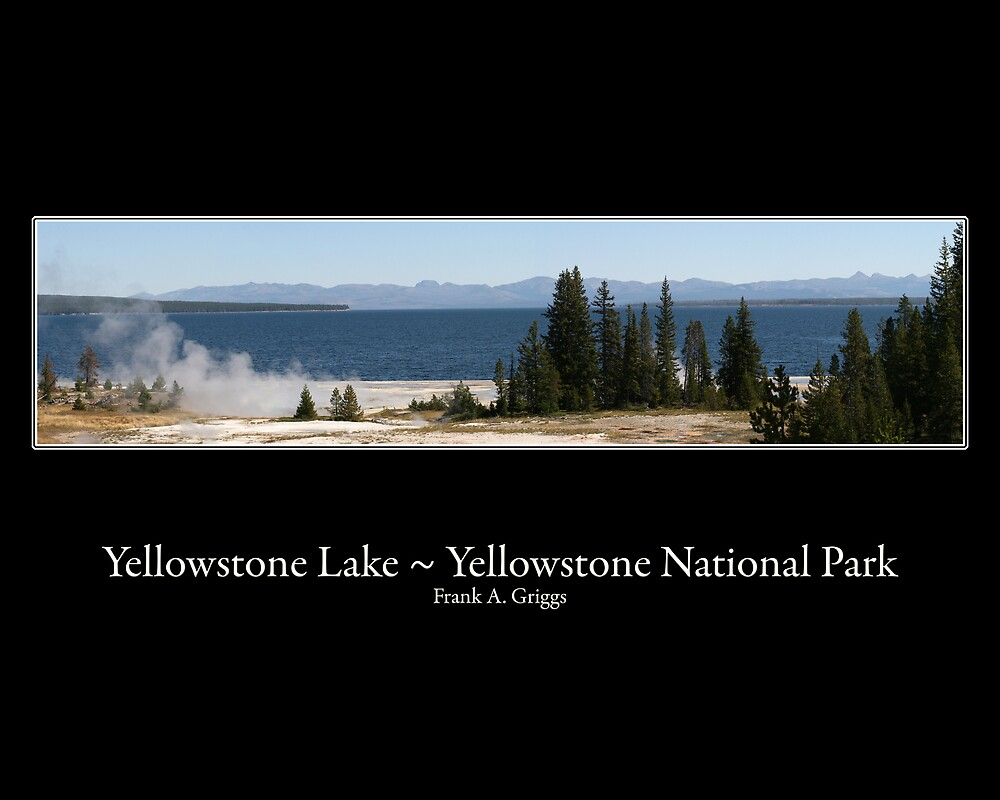 Yellowstone Lake Two by FrankGImages
