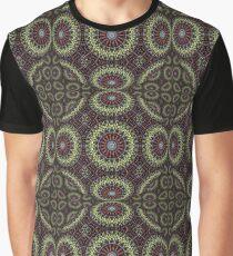 Psychedelic mandala Camiseta gráfica