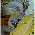 DAVID : Vintage Dali Biblical Abstract Print by posterbobs