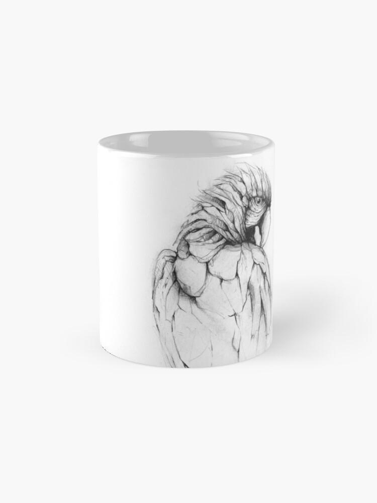 Alternate view of Parrot Mug