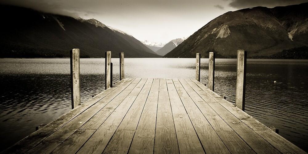 Lake Rotoiti, Nelson Lakes,New Zealand by photopronz