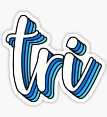 tri Sticker