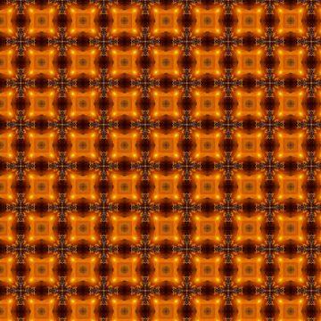 Fall color square pattern  by JohnyZero