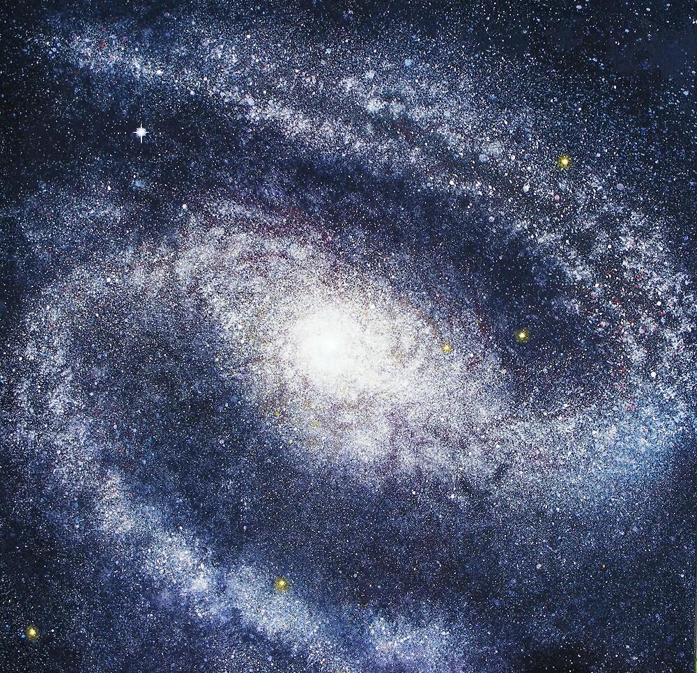 Barred Spiral Galaxy NGC 1300 by JodiStewart