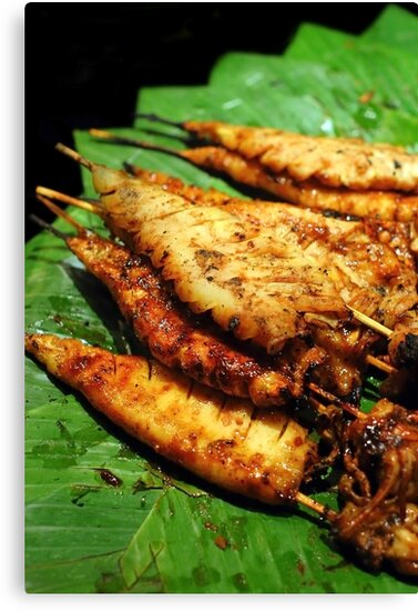 Grilled Calamari by Charuhas  Images
