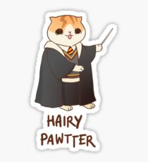 Hairy Pawtter Sticker